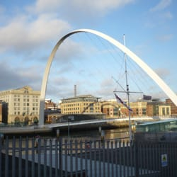 Gateshead Millennium Bridge, Newcastle, Tyne and Wear