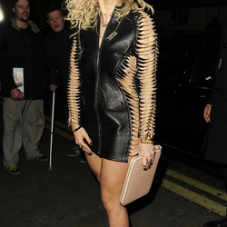 Lovely Rita Ora partying at WM
