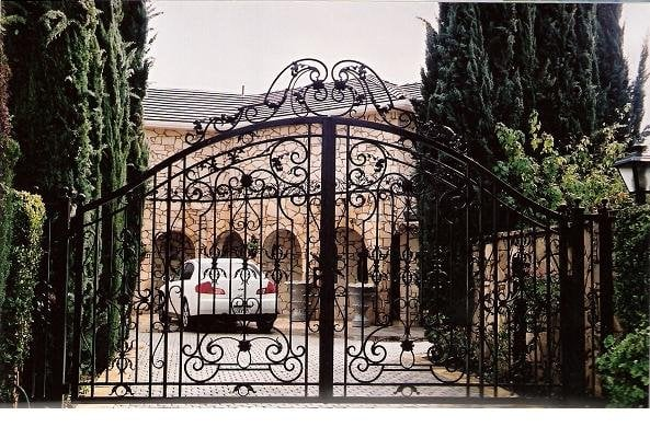 Custom Design Wrought Iron Gate | Yelp