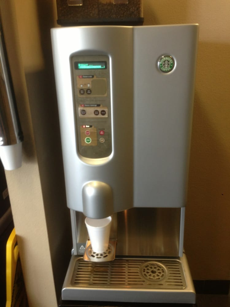 coffee machine like starbucks