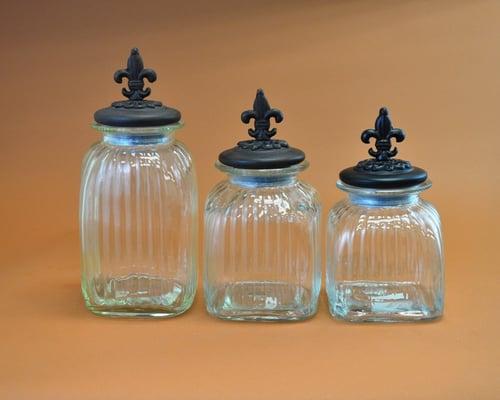 Our Fleur de Lis Antique Jars are decorative & functional. | Yelp