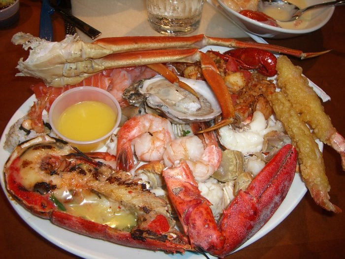 sea food buffet las vegas