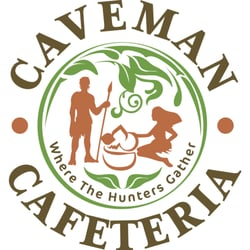 Caveman Cafeteria: Where The Hunters Gather! logo