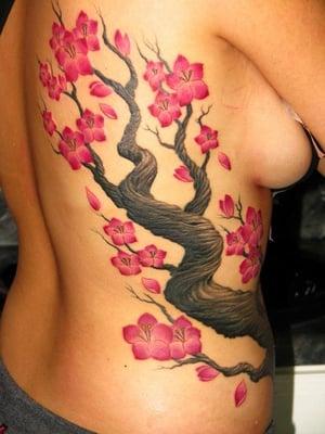 My cherry blossom tree done by joe