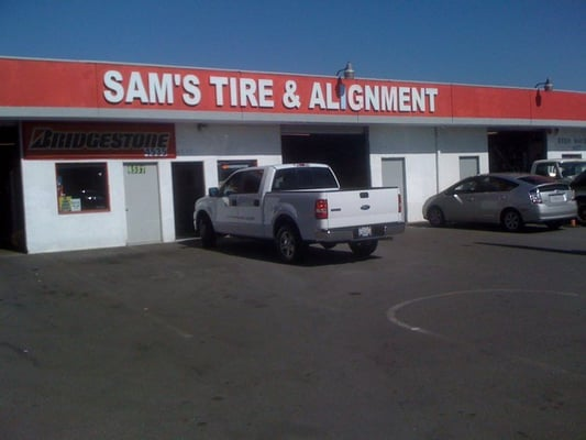 Sam's Alignment and Tire Center - Tires - Hawthorne, CA - Yelp