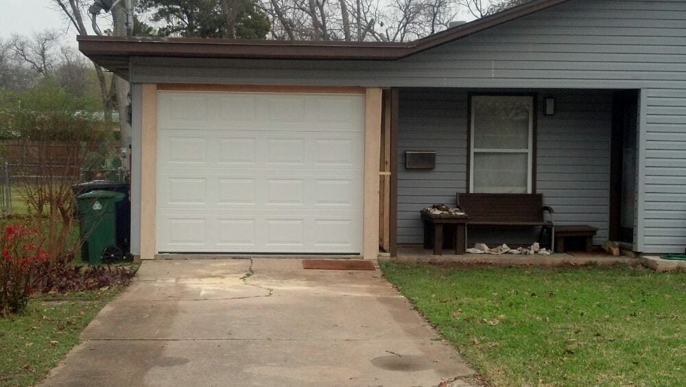 Carport conversion after yelp for Garage door repair austin yelp