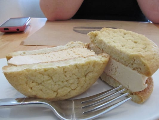 Salted Caramel Sugar Cookie Ice Cream Sandwich | Yelp