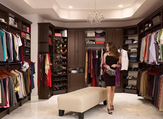 Amazing Modern Walk In Closet Amazing Custom Walk In Closets Chocolate Pear Yelp
