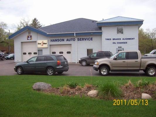 Hanson auto service inc tires rockford mn yelp for Hanson motors service department