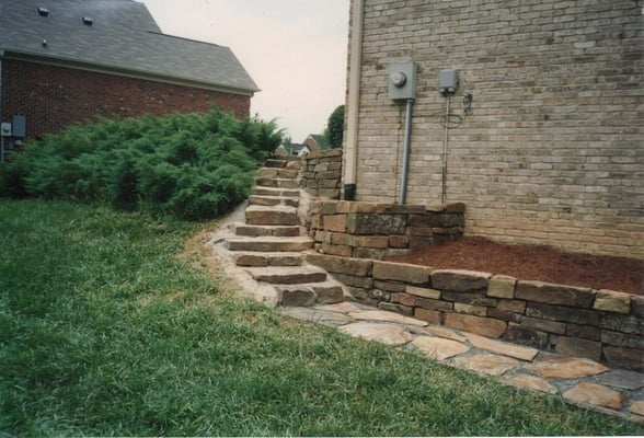 New Garden Nursery Greensboro Nc Photograph Natural Stone