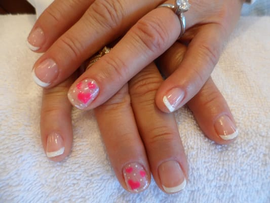 Shellac French Manicure Designs Shellac French Manicure