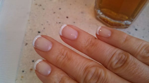 Gel french manicure by Jenny | Yelp