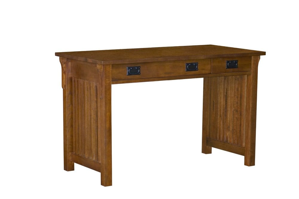 Solid Oak Mission Computer Desk Our Very Best Selling Desk It Features A Fold Down Keyboard