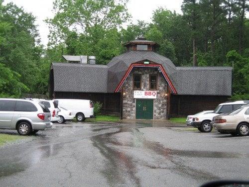 backyard bbq pit closed