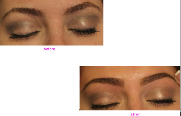 Eyebrow Waxing Before And After Yelp