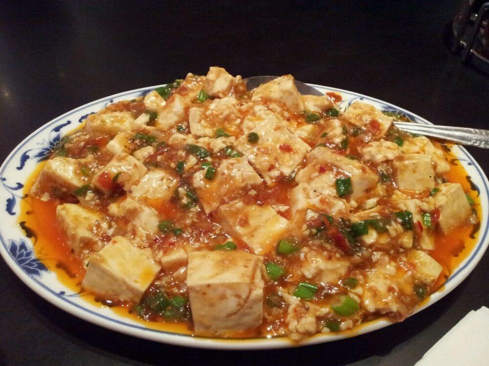 bean curd szechuan style lunch  yelp
