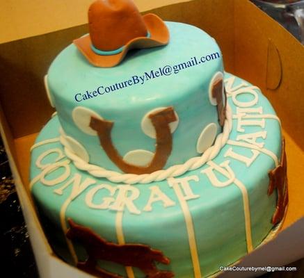 cowboy baby shower cake yelp