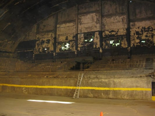 Inside Washington Coliseum today