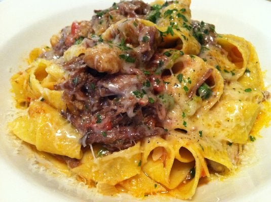 Braised Short Rib Ragu With House Made Pappardelle - Chef Chris Dinner ...