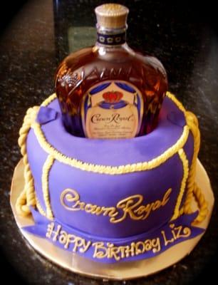 Cake With Crown Royal : CROWN ROYAL LOVER CAKE Yelp