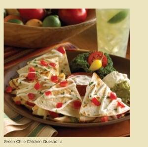 ... green chili pork quesadillas lobster green chile green chile cheese