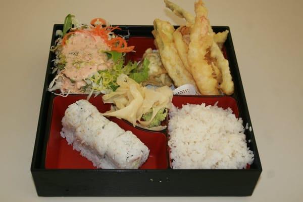 tempura bento box lunch only yelp. Black Bedroom Furniture Sets. Home Design Ideas