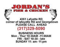 Jordan s fish chicken lafayette square indianapolis for Jordan s fish and chicken