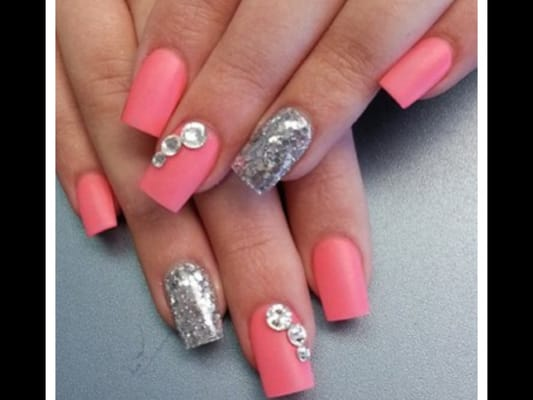 Nails full set gel design @ C and K nails | Yelp