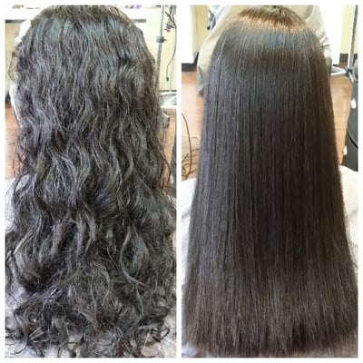 Japanese Straight Perm Before And After Yelp
