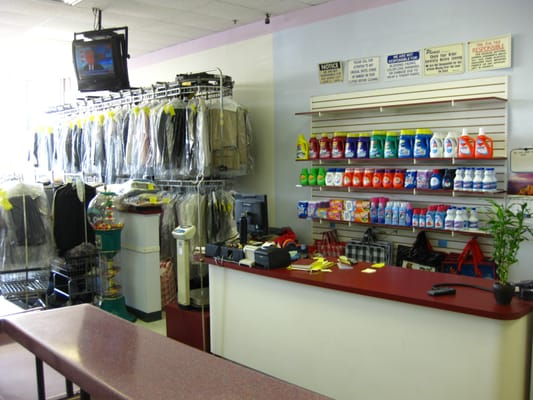 Our Customer Counter And Dry Cleaning Area Yelp