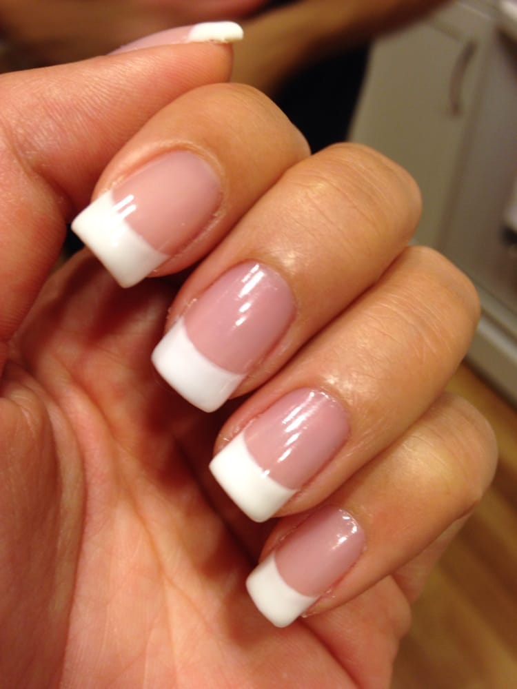 French Tip Nails: French Tip Gel Nails By Amanda!