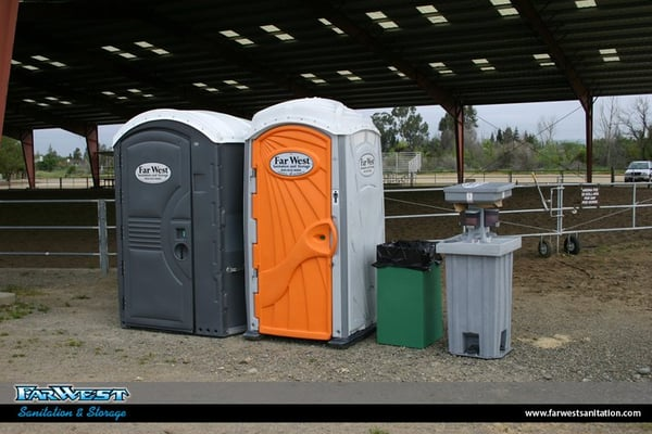 Porta Potty And Sanitation Rentals For A Construction Site