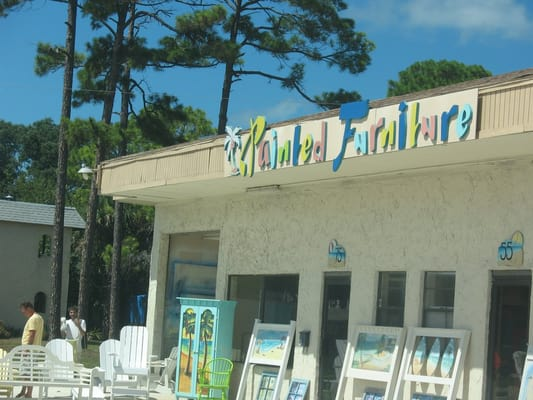 Custom Hand Painted Furniture Furniture Stores Beaches