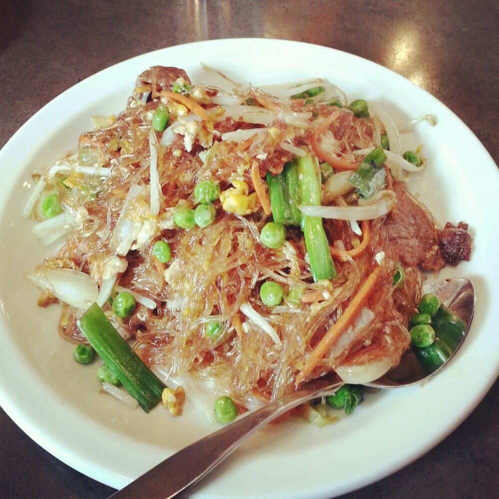 Phad Woon Sen W Duck: The Best Dish From Noodles In The Pot: Beef Pad Woon Sen