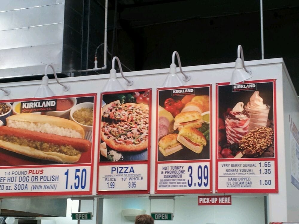 Costco Food Court Menu 2018 Nutrition Cenksms