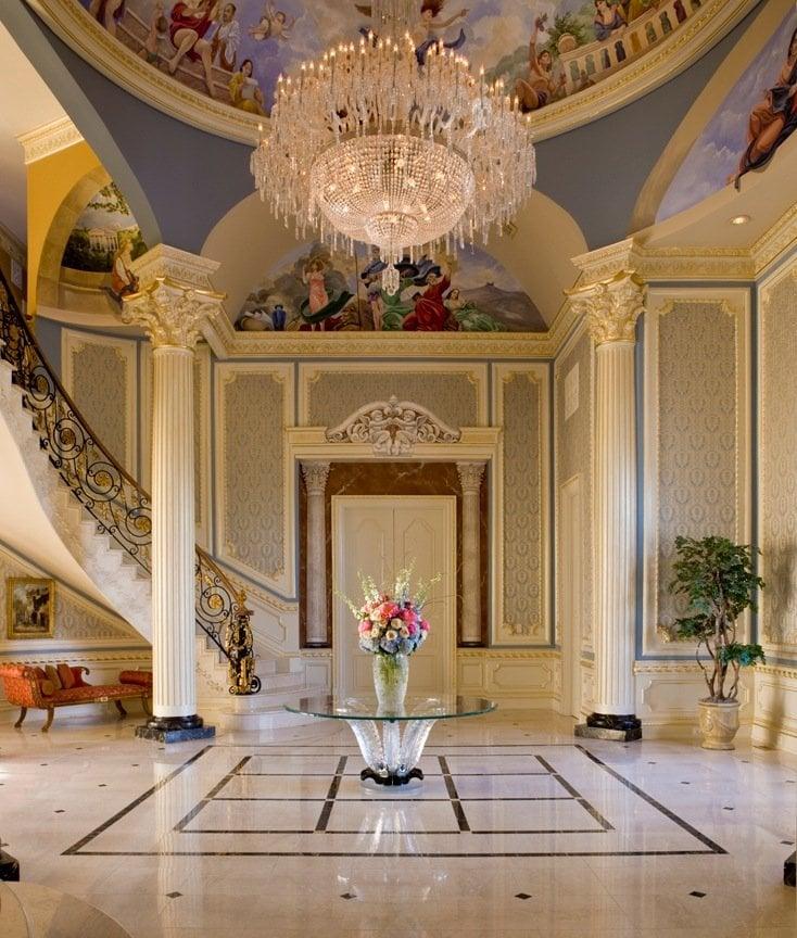 Luxury Foyer Interior Design: Luxury Interior Design, Foyer-Haleh Design, Inc.