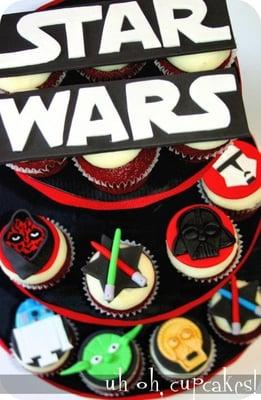 Custom Star Wars Theme Cupcake Tower Yelp