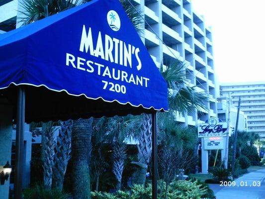 Martins Restaurant Myrtle Beach
