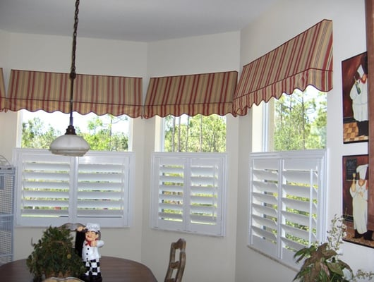 Custom Shutters With Valances Serving West Palm Beach