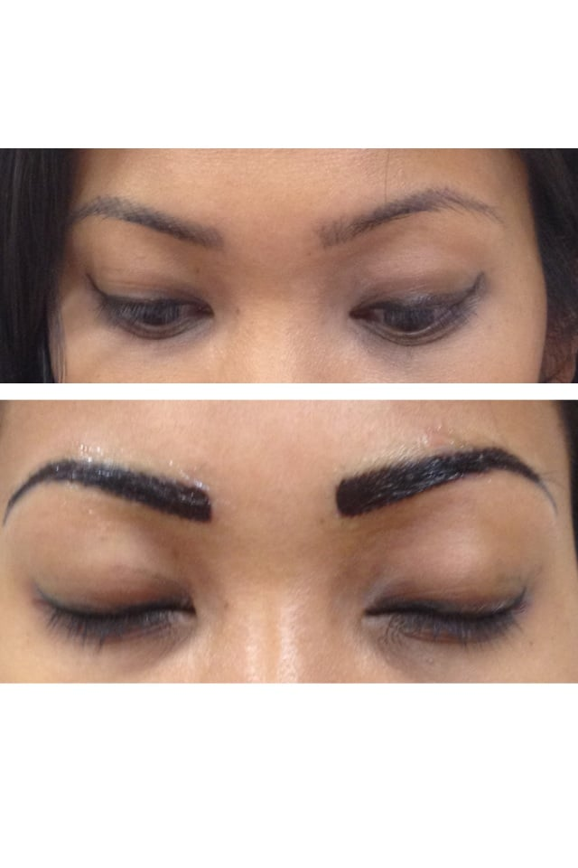 3D Hair Stroke Eyebrow Permanent Makeup   Yelp