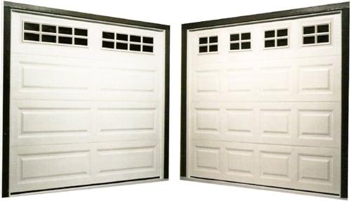 Examples Of Single Garage Doors Shown Left Long Panel