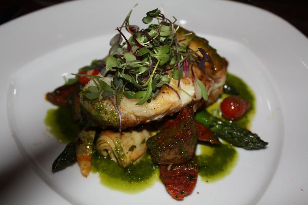 Pan Seared Chilean Sea Bass with Chorizo, Fingerling ...