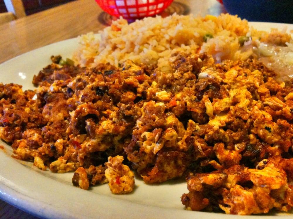 Huevos Rancheros With Chorizo Recipe — Dishmaps