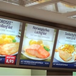 Nordsee the different fast food