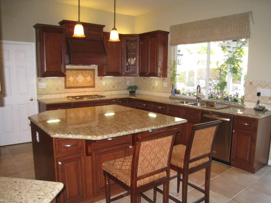 Arthur S Kitchen New Kitchen Classy Cherry Wood Cabinets