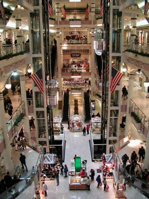 Manhattan Mall Shopping Centers Koreatown New York