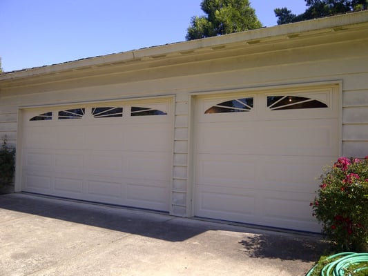 Danville Ca Conversion To Sectional Garage Doors Amarr