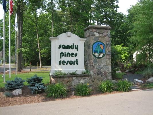 Sandy Pines Rv Resort Campground Hopkins Mi Yelp