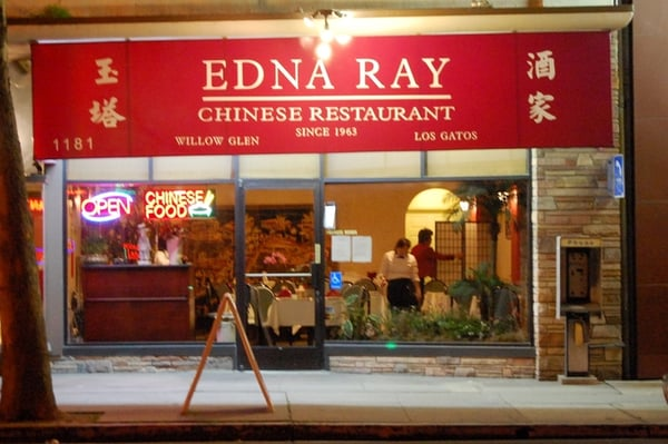 Edna Ray Chinese Food Willow Glen