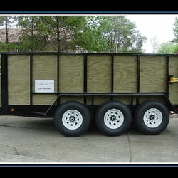 Dump Trailer Rentals Junk Removal Amp Hauling Clawson
